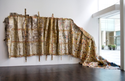 El Anatsui, Fading Scroll, Los Angeles County Museum of Art and the Fowler Museum, UCLA, purchased jointly with funds provided by The Broad Art Foundation, Phil Berg, Robert and Mary Looker, and Margaret Pexton Murray