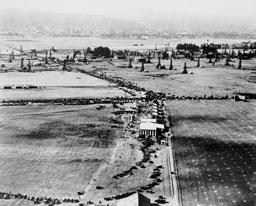 The corner of Wilshire and Fairfax, c. 1920
