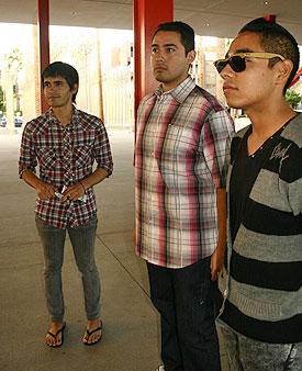 Rafael (left)