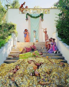 "Eleanor Antin, ""The Golden Death,"" from the series ""The Last Days of Pompeii,"" 2001"