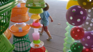 Walking through Choi Jeong-Hwa's HappyHappy