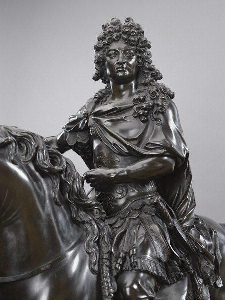 "François Girardon, ""Louis XIV on Horseback,"" 1696, Her Majesty Queen Elizabeth II, London, England, 31359, The Royal Collection, © 2009 Her Majesty Queen Elizabeth II"