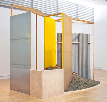 "Hélio Oiticica, ""Nas quebradas,"" 1979, purchased with funds provided by the Modern and Contemporary Art Council, JoAnn Busuttil, the American Art Deaccession Fund, and anonymous donors"
