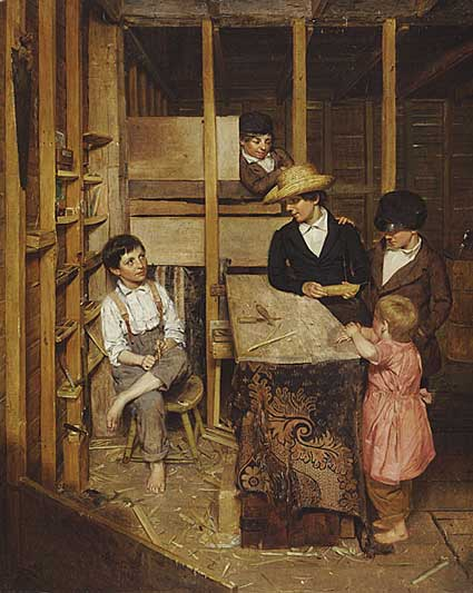 "Allen Smith Jr., ""The Young Mechanic"" (1848), Gift of the American Art Council and Mr. and Mrs. J. Douglas Pardee"
