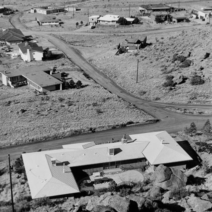 Joe Deal, Untitled View (Albuquerque), 1974, printed 1975, gelatin silver print, George