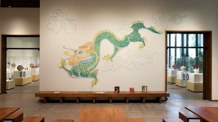 The Boone Dragon Was Painted By A Trio Of Artists Andy Doherty Kirsten Burton And Pamela Starks Who Studied LACMAs Korean Art Collection Like Me