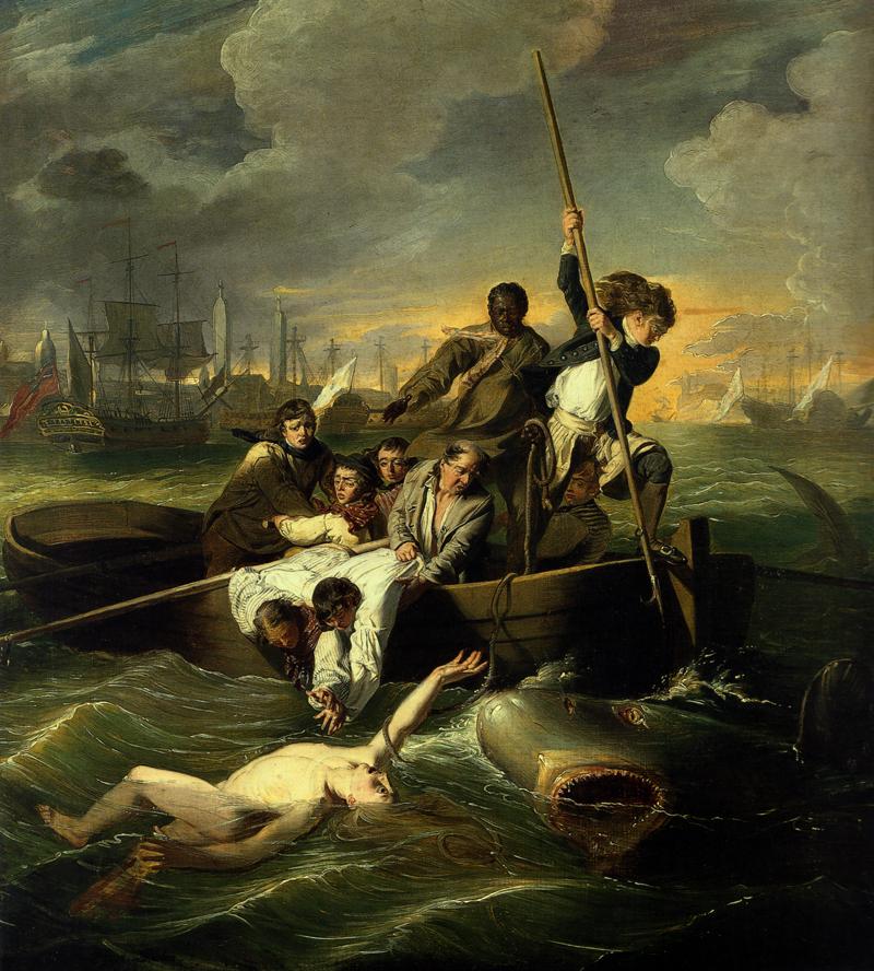 John Singleton Copley, Watson and the Shark, 1778, oil on canvas,