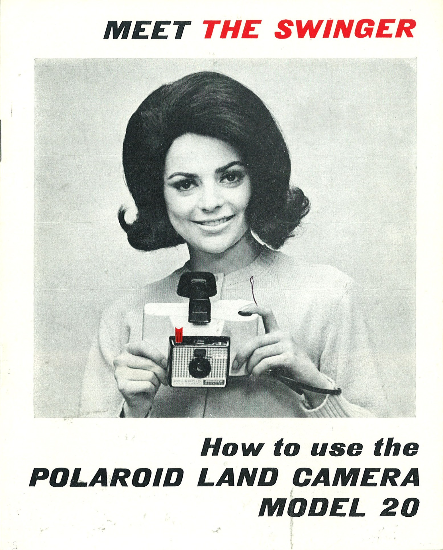 Polaroid commercial swinger