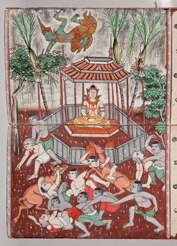 The Chandrakumara Jataka, on Forbearance