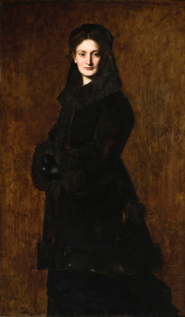 Portrait of Madame Paul Duchesne-Fournet, Jean-Jacques Henner (France, Bernviller, 1829 - 1905) , 1879, Oil on canvas