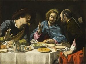 Filippo Tarchiani, The Supper at Emmaus, circa 1625, William Randolph Hearst Collection