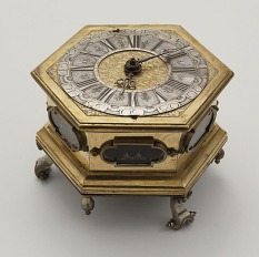 Georg Metzner, Table Clock and Case, circa 1650, William Randolph Hearst Collection