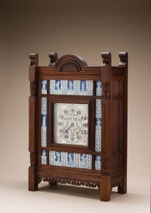 Howell & James, Lewis F. Day, Clock, circa 1878, Decorative Arts Deaccession Funds