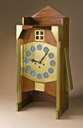 Gustave Bovy-Serrurier, Serrurier-Bovy's Workshop,Clock, circa 1905