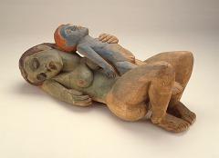 Hermann A. Scherer, Sleeping Woman with Boy, 1926, gift of Anna Bing Arnold