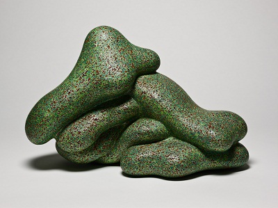 Ken Price, 100% Pure, fired and painted clay, collection of Frank and Berta Gehry, © 2012 Ken Price, photo © 2012 Fredrik Nilsen