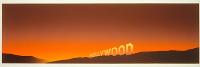 Ed Ruscha, Hollywood, 1968, Museum Acquisition Fund, © 2012 Edward J. Ruscha IV. All rights reserved. Photo © 2012 Museum Associates/LACMA
