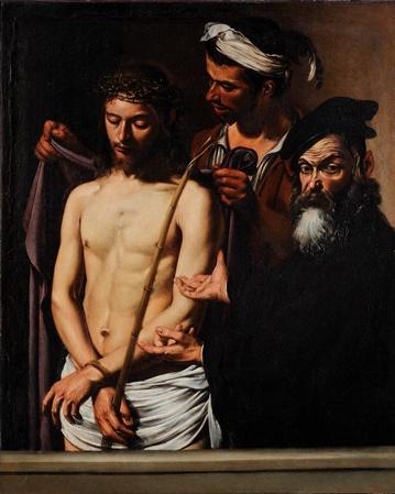Michelangelo Merisi da Caravaggio, Ecce Homo, 1605, Musei de Strada Nuova, Palazzo Bianco, Genoa, Italy, photo © Musei di Strada Nuova