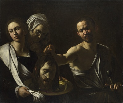 Michelangelo Merisi da Caravaggio, Salome Receives the Head of St. John the Baptist, c. 1609–1610, National Gallery, London, England, photo © 2012 The National Gallery, London
