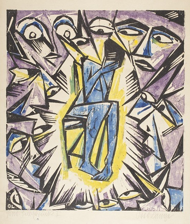 Otto Lange, Vision, probably after 1919, The Robert Gore Rifkind Center for German Expressionist Studies