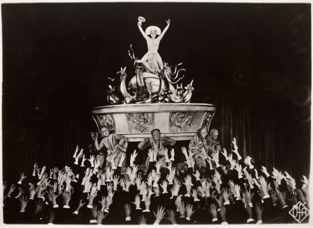 Horst von Harbou, Untitled (Robot Maria dancing in night club), 1926, Film still from Fritz Lang's movie Metropolis, purchased with funds provided by the Robert Gore Rifkind Foundation