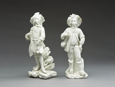 Pair of Turkish Figures, Mennecy, France, 1750-1777, gift of MaryLou and George Boone in honor of the museum's twenty-fifth anniversary, photo © 2012 Museum Associates/LACMA