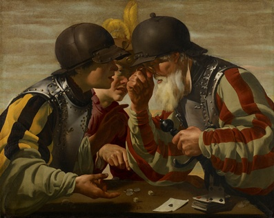Hendrick ter Brugghen, The Gamblers, 1623, the Minneapolis Institute of Arts, Minnesoate, the William Hood Dunwoody Fund, photo © Minneapolis Institute of Arts