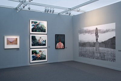 """Face to Face"" exhibition, Paris Photo 2012, Amalia Pica completed 10 a.m. (Paris time), November 13."