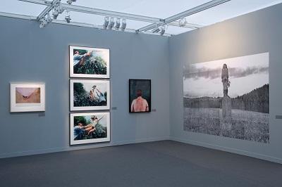 """Face to Face"" exhibition, Paris Photo 2012, Amalia Pica completed 10 a.m. (Paris time), November 13."