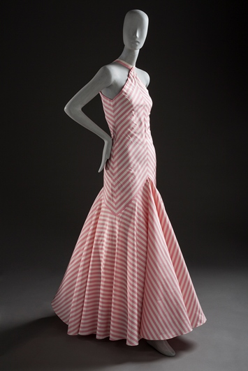 Madame (Alix) Grès, Woman's Evening Dress, 1987, purchased with funds provided by Ellen A. Michelson, photo © 2012 Museum Associates/LACMA. All rights reserved
