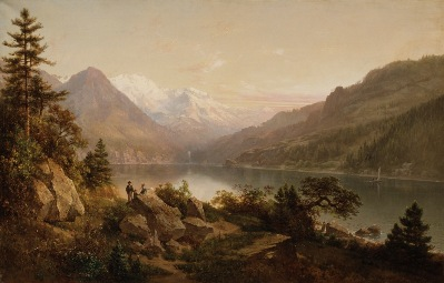 Thomas Hill, Emerald Bay, Lake Tahoe, 1864, William Randolph Hearst Collection