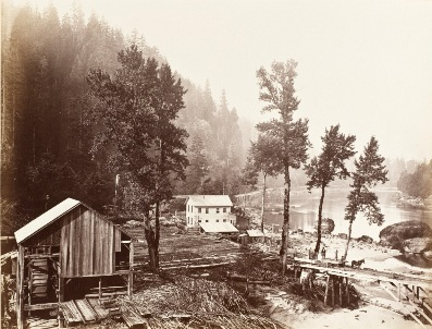 Carleton Emmons Watkins, Eagle Creek, 1867, the Marjorie and Leonard Vernon Collection, gift of the Annenberg Foundation and promised gift of Carol Vernon and Robert Turbin