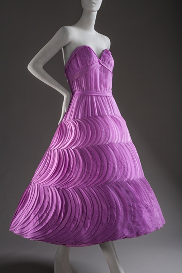 Jean Dessès, Woman's Evening Dress, 1956, purchased with funds provided by Ellen A. Michelson, photo © 2012 Museum Associates/LACMA. All rights reserved