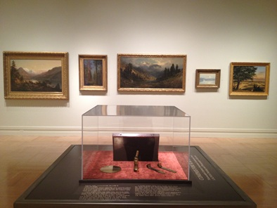 Compass for Surveyors, installation view: west wall