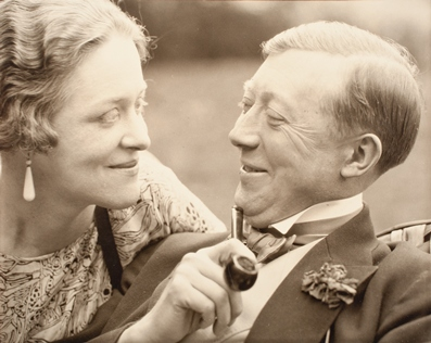 Edward Steichen, Mr. & Mrs. Vogel, 1928, reproduced with permission of Joanna T. Steichen, gift of Richard and Jackie Hollander