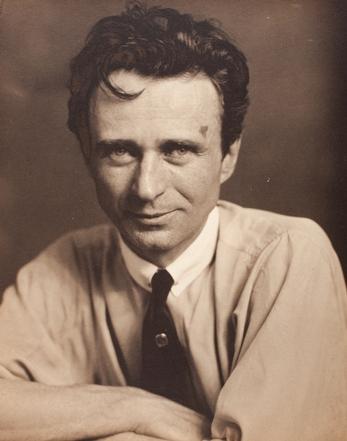 Edward Steichen, Self-portrait, c. 1920, gift of Richard and Jackie Hollander, © permission the Estate of Edward Steichen