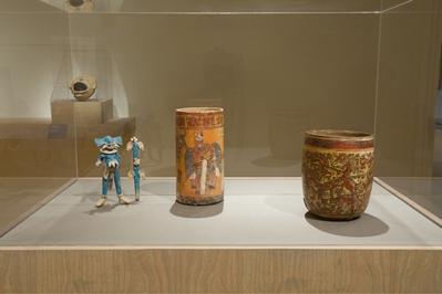 Ancient Maya World, installation view