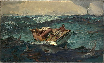Winslow Homer, The Gulf Stream, 1899, The Metropolitan Museum of Art, Catharine Lorillard Wolfe Collection, Wolfe Fund, 1906