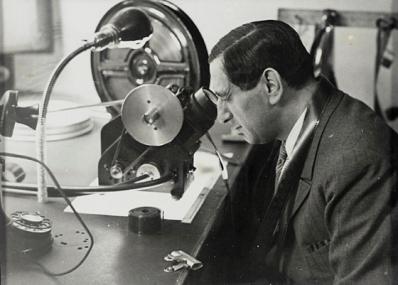Erich Salomon, Ernst Lubitsch, Hollywood, Germany, 1930, gift of Nancy Nigrosh