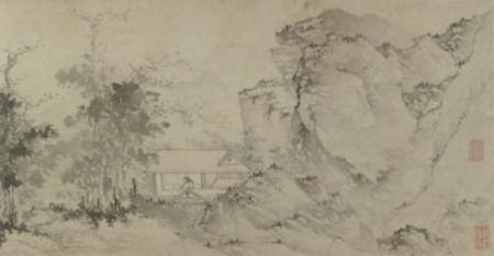 Jiang Song, Carrying a Zither to Visit a Friend, Late fifteenth to early sixteenth centuries, Shanghai Museum