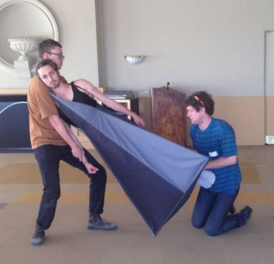"""Rehearsals for Liz Glynn's """"The Myth of Getting It Right the First Time"""""""
