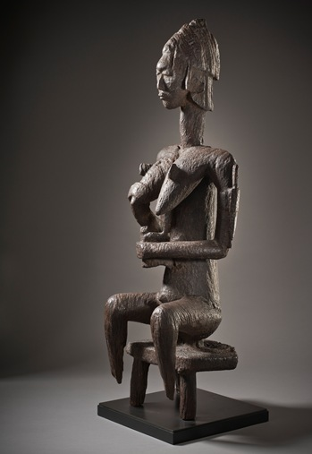 Mother and Child Figure for the Gwan Association, Republic of Mali, Bamana Peoples, 1432-1644 (carbon 14 testing), gift of the 2013 Collectors Committee with additional funds provided by Kelvin Davis and Bobby Kotick