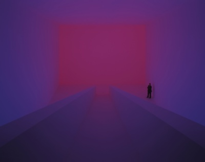 James Turrell, Bridget's Bardo, 2009, Ganzfeld, installation view at Kunstmuseum Wolfsburg, Germany, 2009, © James Turrell, photo © Florian Holzherr