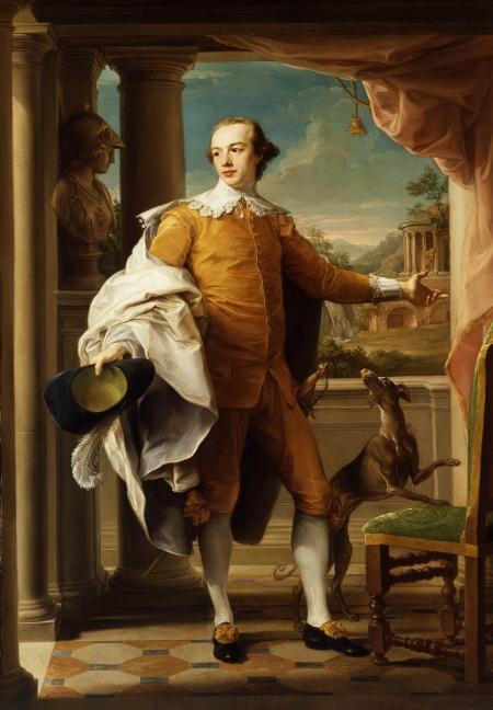 Pompeo Batoni, Portrait of Sir Wyndham Knatchbull Wyndham, 1758-1759, Gift of The Ahmanson Foundation.