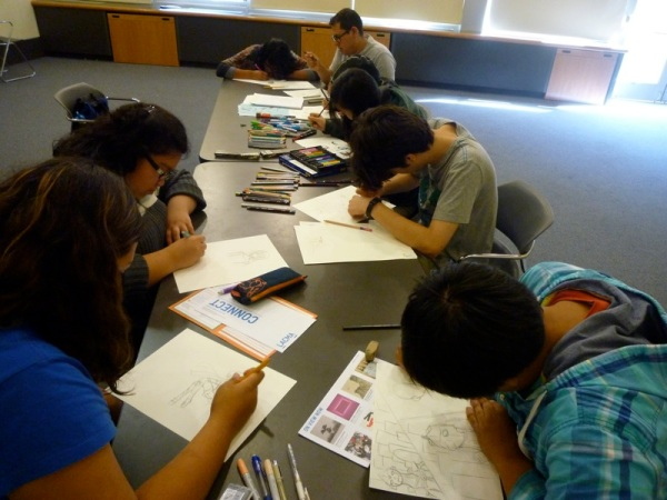 Art Programs with the Community: LACMA On-Site, Los Feliz Library