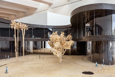 Installation view, The Presence of the Past: Peter Zumthor Reconsiders LACMA