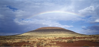 James Turrell, Roden Crater Project, view toward northeast, Photo © Florian Holzherr