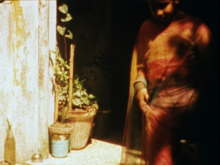 Still from Eating Grass (2003), a film by Alia Syed. 16mm film transferred to HD Video, Sound, 22 minutes, 56 seconds, © Alia Syed. Courtesy of the artist and Talwar Gallery