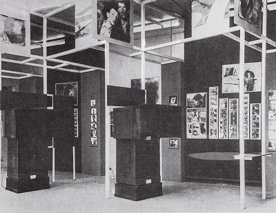 [Image 8]  The Russian Room, designed by El Lissitzky, at the 1929 FiFo exhibition in Stuttgart.