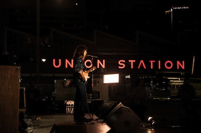 Eleanor Friedberger at the Kansas City Pop-Up Happening, photo by Mara McKevitt, courtesy of Station to Station